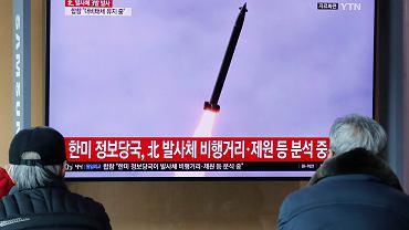 Korea Północna wystrzeliła trzy rakiety krótkiego zasięgu - poinformował sztab południowokoreańskiej armii
