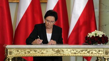 Ewa Kopacz została 14. premierem III Rzeczypospolitej