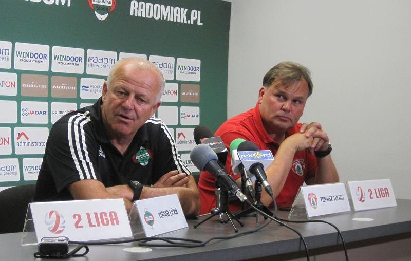 Konferencja prasowa po meczu Radomiak vs Puszcza
