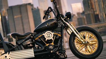 Nagroda dla motocykla New Jork-Rzeszów na konkursie Rat's Hole Custom Bike Show.