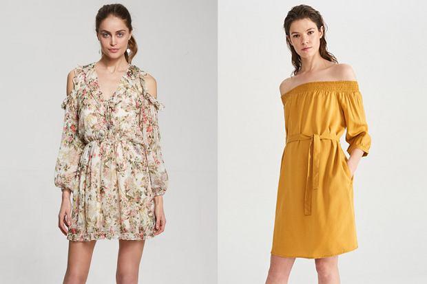 Sukienki odsłaniające ramiona, fot. mat. partnera