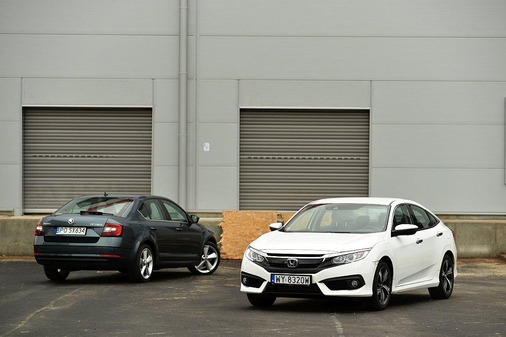 Skoda Octavia 1.4 TSI vs. Honda Civic 1.5 Turbo