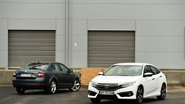 Skoda Octavia 1.4 TSI vs. Honda Civic 1.5 Turbo