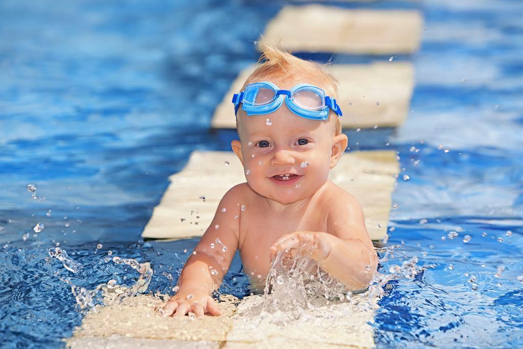 Nauka pływania na wakacjach