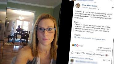 Mama pracuje zdalnie, Facebook.com/krista.duzan