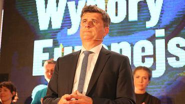 Janusz Palikot po ogłoszeniu wstępnych wyników - Twój Ruch nie przekroczył progu wyborczego