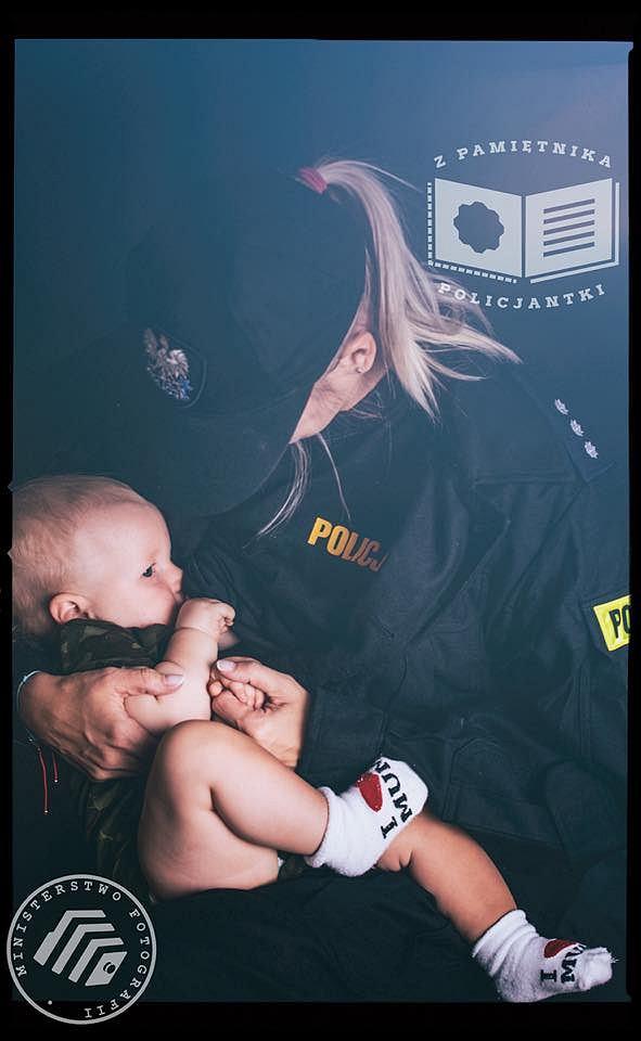 Mama policjantka. Mundur i macierzyństwo nie wykluczają się