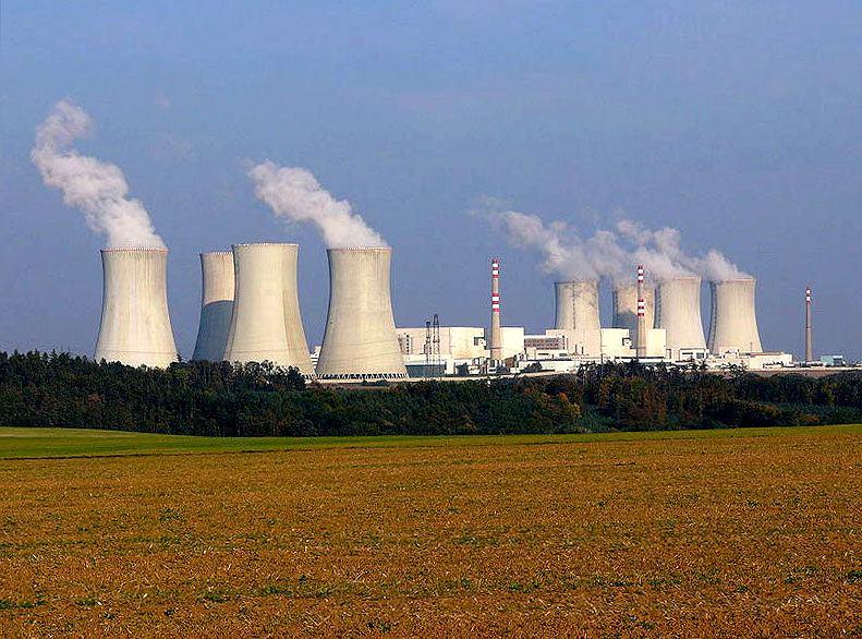 Elektrownia w Dukovanach / zdjęcie ilustracyjne