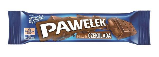 E.Wedel Pawełek mleczny Czekolada
