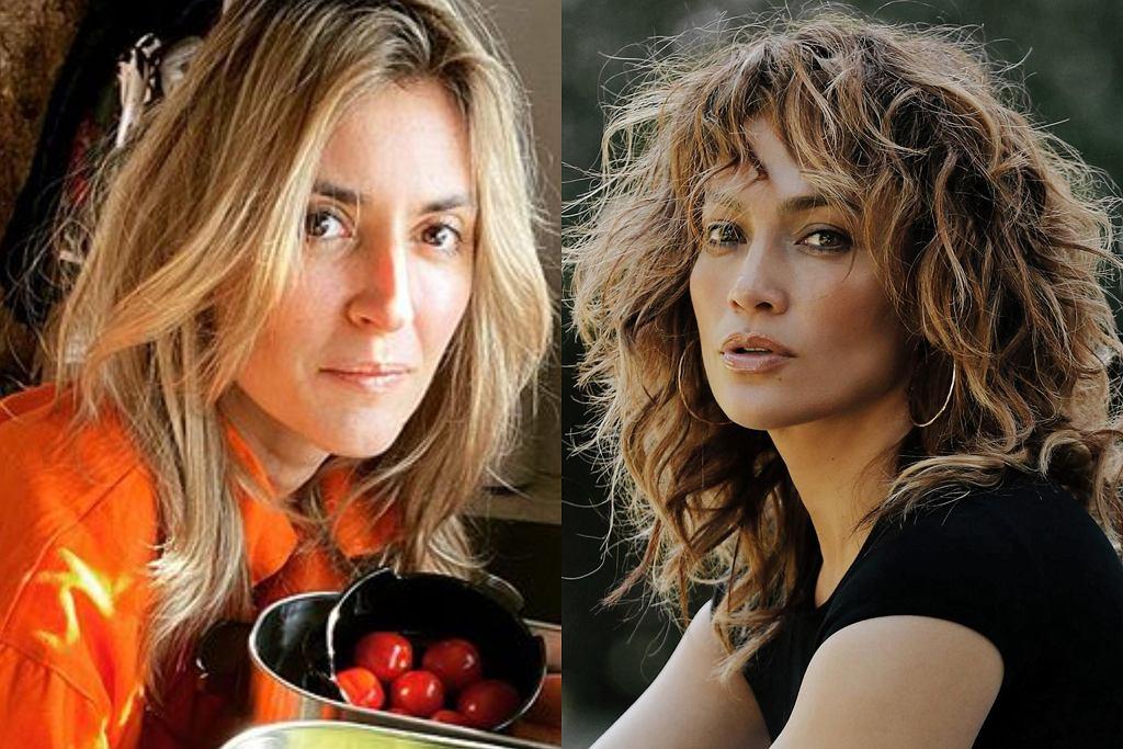 Karolina Szostak i Jennifer Lopez