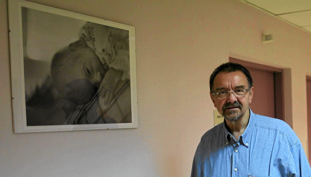 Prof. Romuald Dębski (fot. Albert Zawada/AG)