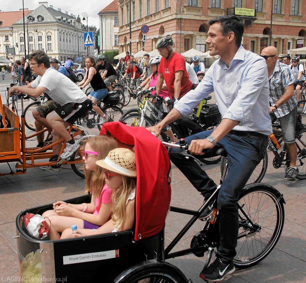 Ambasador Danii w Polsce Steen Hommel na Święcie Cyklicznym