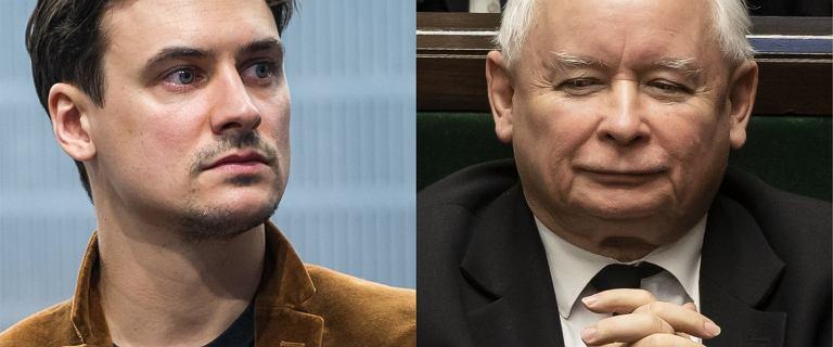 Mateusz Damięcki żąda przeprosin od Jarosława Kaczyńskiego