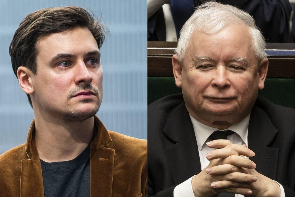 Mateusz Damięcki, Jarosław Kaczyński