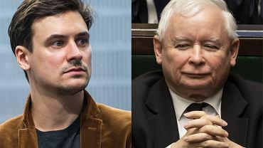 Mateusz Damięcki żąda przeprosin od Jarosława Kaczyńskiego.