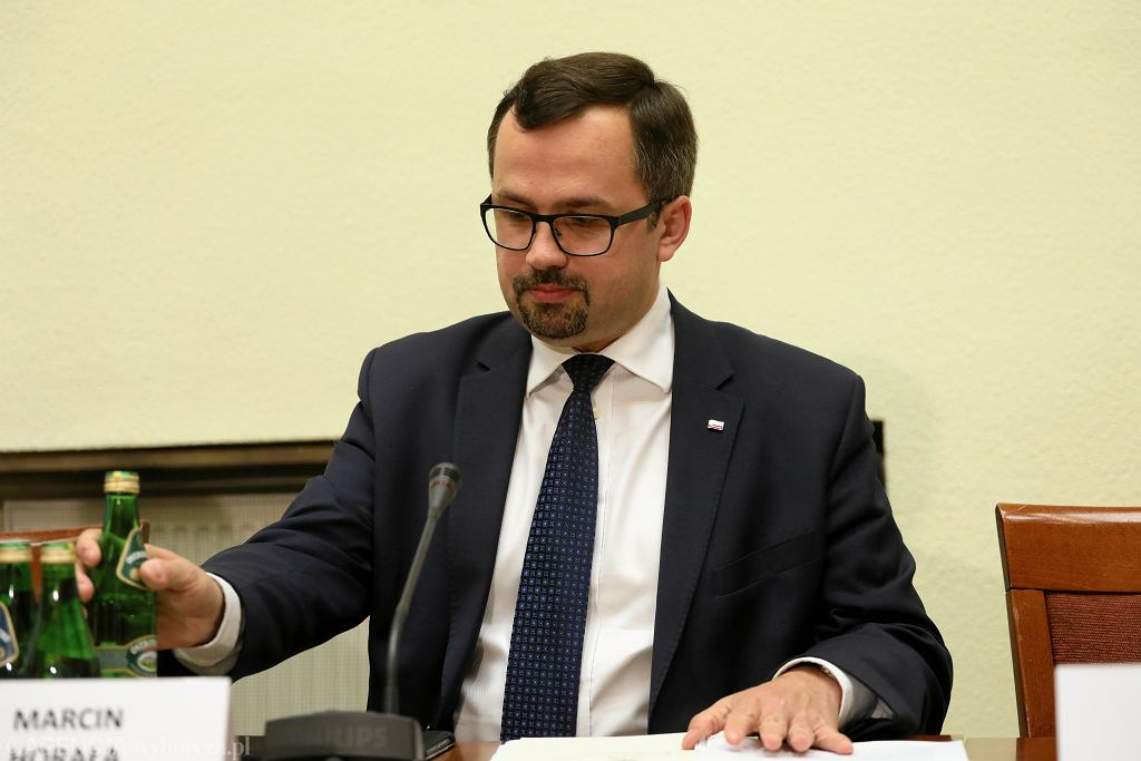 Przewodniczący komisji śledczej ds. VAT Marcin Horała