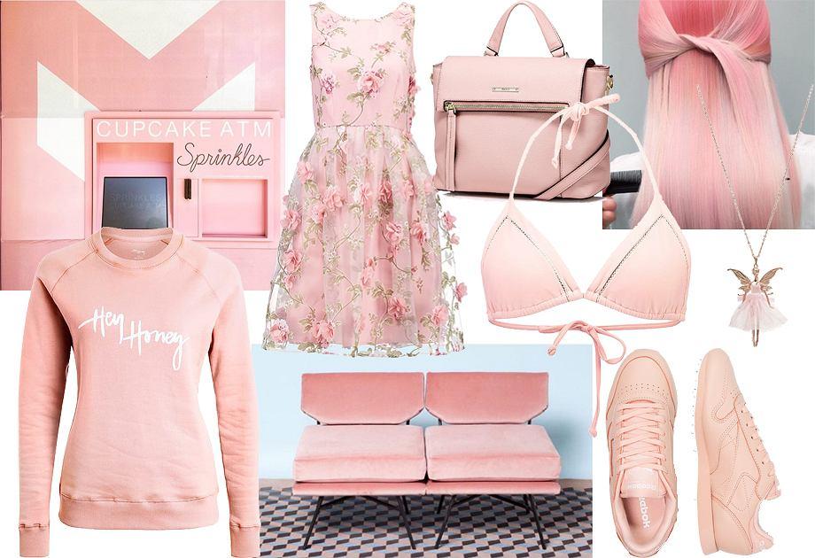 Millennial pink - moodboard