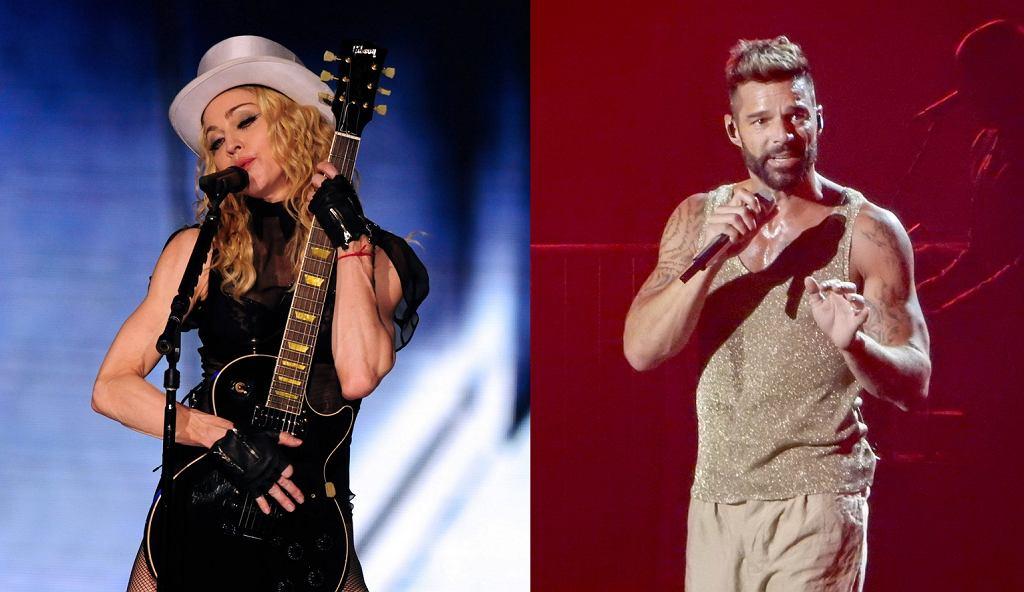 Madonna i Ricky Martin