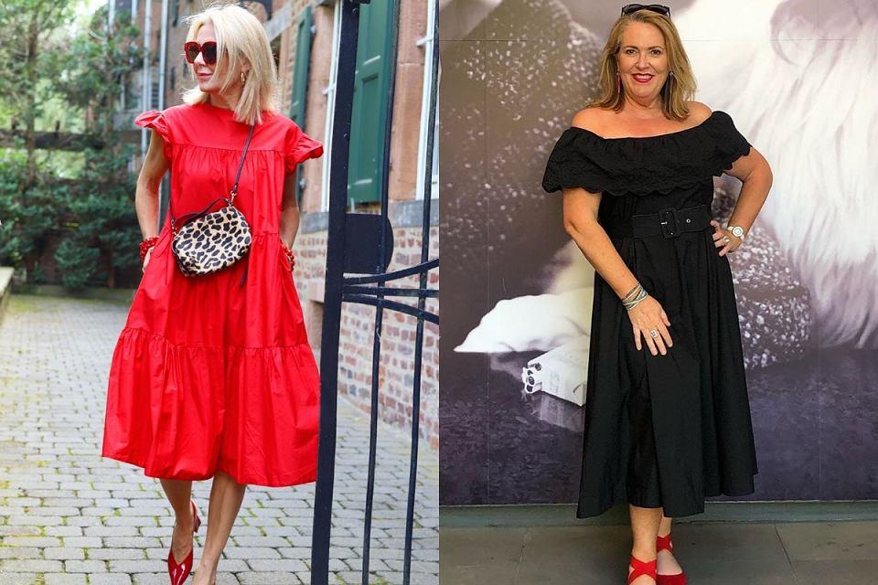 eleganckie sukienki po 50tce