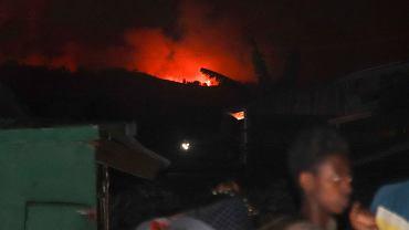 Demokratyczna Republika Konga. Wybuch wulkanu Nyiragongo