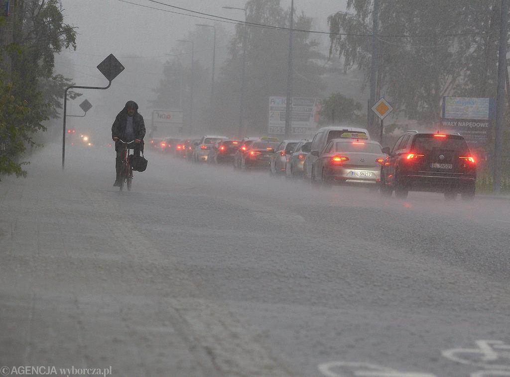 Burza w Łodzi, 26.06.2020