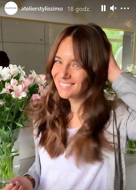 Anna Czartoryska-Niemczycka ma nową fryzurę