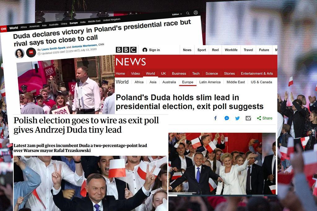 Zagraniczne media o wyborach prezydenckich w Polsce