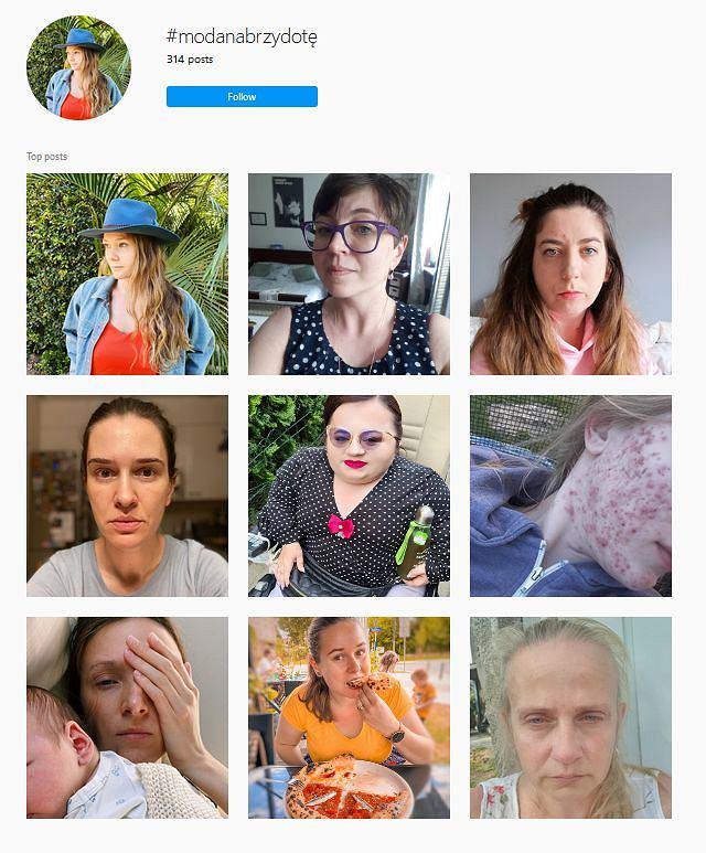 'Moda na Brzydotę' - Instagram