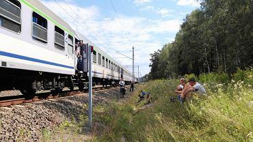 Awaria trakcji elektrycznej na trasie Prabuty - Susz na kilka godzin zatrzymała pociągi jadące z Warszawy do Gdyni i w przeciwną stronę