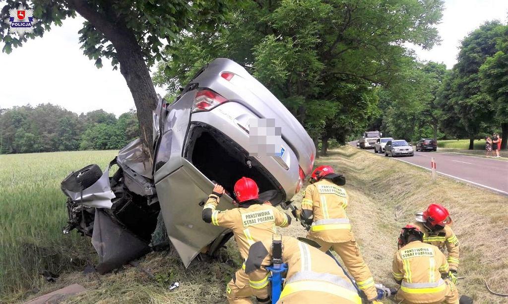 Wypadek w Parczewie