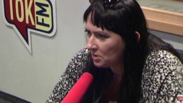 "Dorota Gudaniec w ""Poranku Radia TOK FM"""