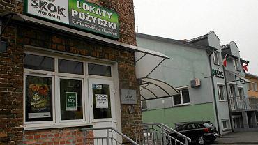 Sąd orzekł upadłość SKOK-u Wołomin w lutym 2015 r. Na zdjęciu: oddział przy ulicy Wileńskiej w Wołominie