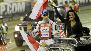 Tomasz Gollob na Grand Prix w Toruniu