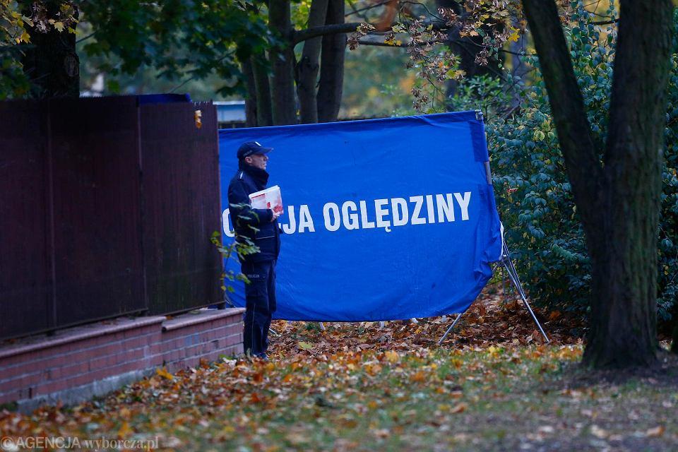 Zwłoki w okolicy Stawów Jana w Łodzi zostały znalezione w piątek (26 października)