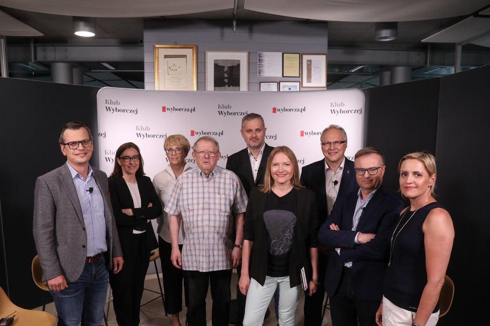 Spotkanie ('online') redakcji 'GW' z czytelnikami. Warszawa, 23 czerwca 2021
