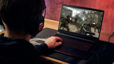 Laptop MSI GF65 Thin to prawdziwy bohater na dwie zmiany. Idealny do gier, ale również do pracy.