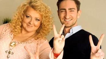 Magda Gessler i Łukasz Jakóbiak