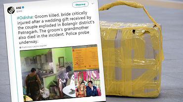 W Indiach wybuchł ślubny prezent