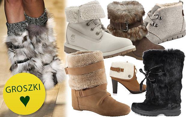 buty zimowe damskie z futerkiem w środku
