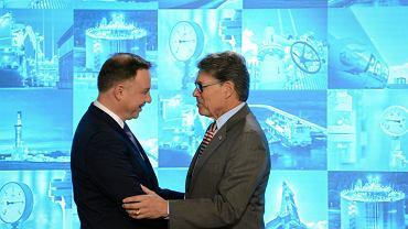 Podpisanie kontraktu na dostawy ciekłego gazu ziemnego z USA, 8.11.2018