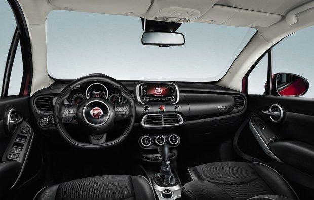 Fiat 500X - wnętrze