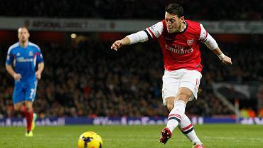 Arsenal - Hul 2:0. Mesut Ozil