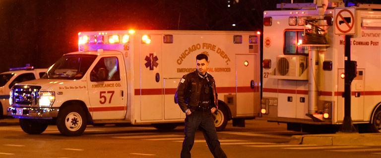 Strzelanina w Chicago. Napastnik zaczął zabijać przed szpitalem