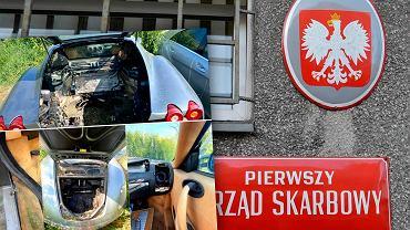 Fiskus sprzedał zarekwirowane ferrari. Bez silnika, ale z gniazdem os. Szukają chętnego na Maserati