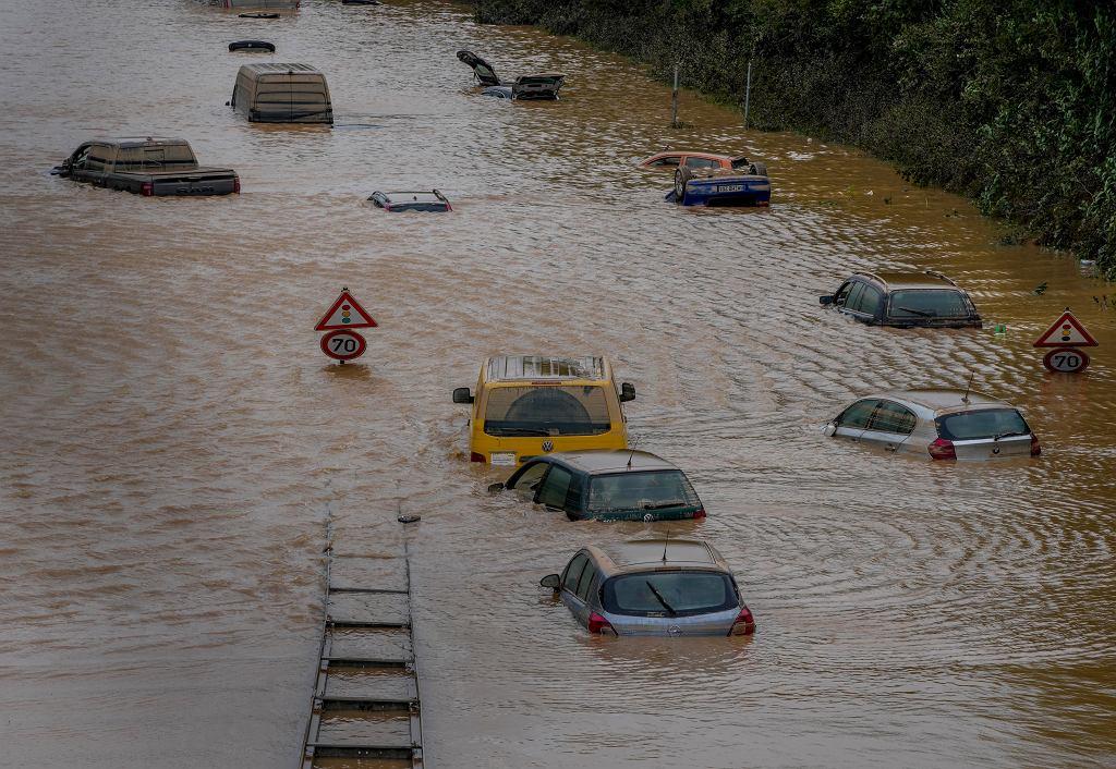 Powódź w Niemczech - 17 lipca 2021