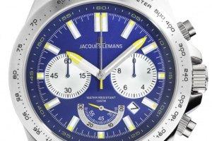 Szwajcarskie zegarki Jacques Lemans