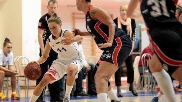 MUKS Poznań - Basket Gdynia. Agnieszka Skobel