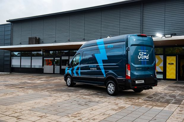 Ford Transit i Transit Custom PHEV