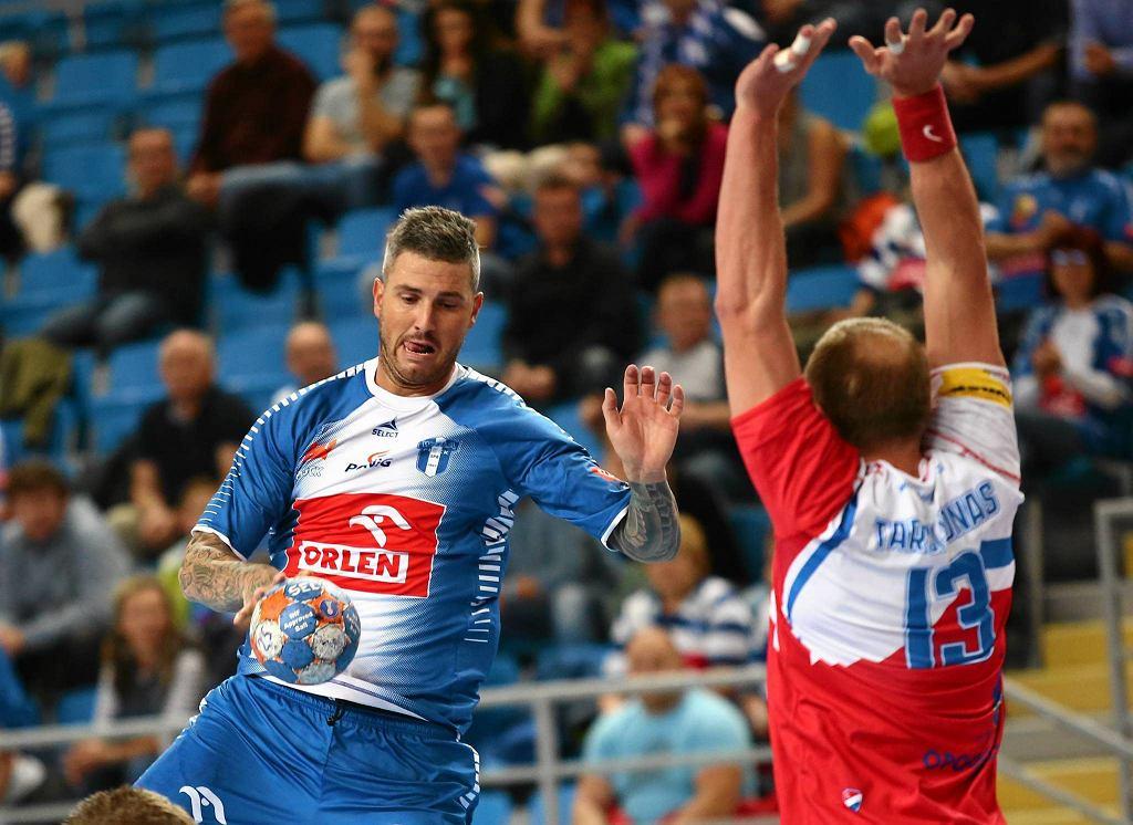 PGNiG Superliga. Orlen Wisła Płock - Gwardia Opole 34:17. Bartosz Konitz