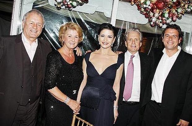 "David ""Dai"" Jones, Catherine Zeta-Jones, Michael Douglas"